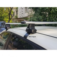 БАГАЖНИК THULE Wingbar ДЛЯ Nissan Leaf 2010- (TH-754;TH-969;TH-1633)
