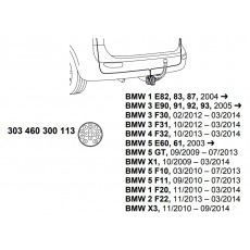 комплект электрики фаркопа Westfalia 303460300113 BMW