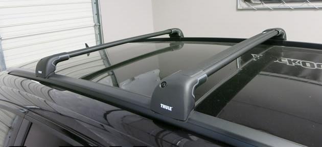 mitsubishi outlander 2013 thule wingbar edge 9595 black. Black Bedroom Furniture Sets. Home Design Ideas